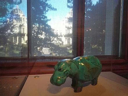 ウィーン自然史博物館「古代エジプトのナイル河馬」