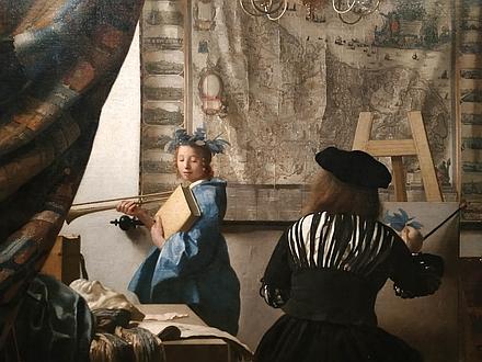 ウィーン美術史美術館フェルメール「絵画芸術」