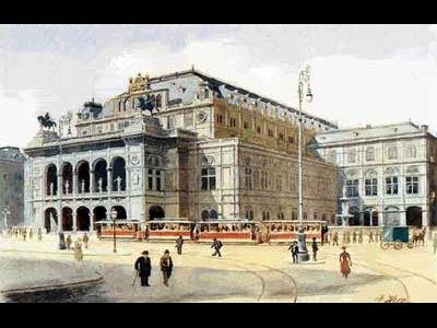 一次大戦前の国立歌劇場