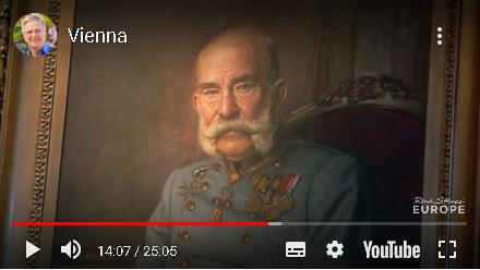 YouTubeのウィーン動画